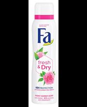 Spreideodorant Fresh&Dry Peony Sorbet 150 ml