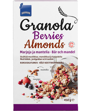 Rainbow Granola Berries Almonds röstitud müsli,450g