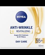 Päevakreem Anti-Wrinkle + Revitalizing 55+ 50 ml