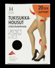 Naiste sukkpüksid Control Support 20 den must, 44-48