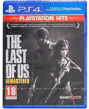 PS4 mäng The Last of Us Remastered