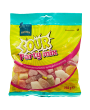 Sour  Party Mix kommid 250 g, gluteenivaba