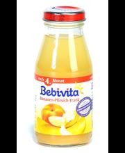 Bebivita banaani-virsikujook 200 ml, alates 4-elukuust