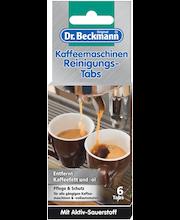 Dr. Beckmann kohvimasina puhastustabletid 6 tk
