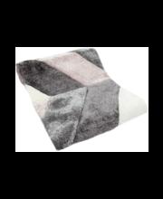 Vaip Palkki 70 x 150 cm, roosa/hall, polüester