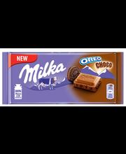 Milka šokolaad Oreo Choco küpsisega 100 g