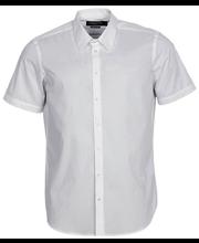 Meeste pluus lühikeste varrukatega, valge XL regular
