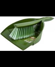Arix kühvel+hari Tonkita, roheline