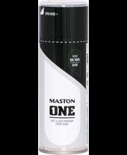 Akrüülvärv One Spray 400ml läikiv must