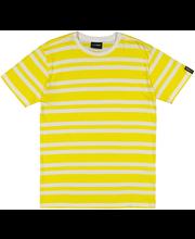 M t-särk la-keus kollane triip l