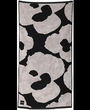 Froteerätik City Blossom 70x140 cm, must/beez