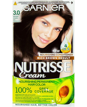 Juuksevärv Nutrisse 3 Darkest Brown