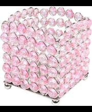 Küünlahoidja Kristall, roosa