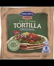 Santa Maria Tortilla Organic Original Medium, 320 g
