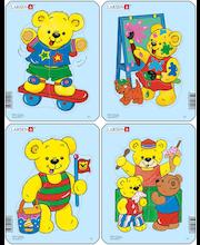 Raampuzzle Teddy karud
