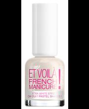 French manicure küünelakk tip white