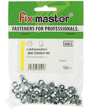 Fixmaster lukustusmutter, DIN 985, ZN, M5, 50 tk