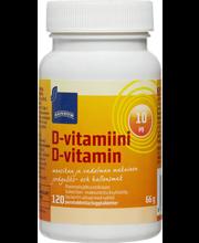Rainbow, 10 µg D-vitamiinitabletid, 120 tk