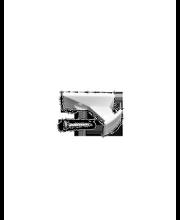 Klamber 2 tk, valge
