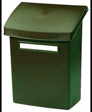 Plastist postkast Orthex, roheline