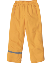 Laste vateeritud püksid kollased, 164 cm