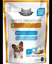 Täissööt väikestele täiskasvanud koertele kana ja kartuliga 8...