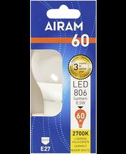 LED-lamp 8,5W E27 2700K 806LM