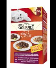 Täissööt kassidele, erinevad valikud 6 × 50 g