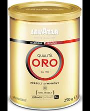 Jahvatatud kohv Qualita Oro 250g purgis