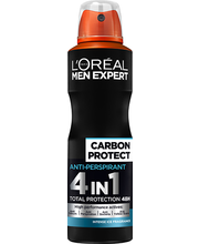 Spreideodorant men expert deo carbon 150ml