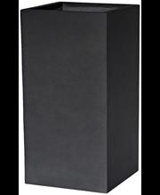 Õuelillepott kuup 23x23 cm, hall