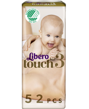 Libero teipmähkmed Touch 3, 4-8 kg, 52 tk