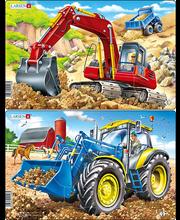 Puzzle Traktor/Ekskavaator