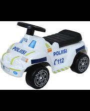 plasto politseimaastur-tõukeauto
