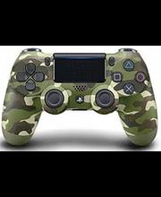 PS4 DualShock mängupult Green Camouflage
