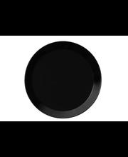 Taldrik Teema 17 cm, must