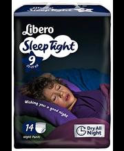 Libero öömähkmed SleepTight 9, 20-37 kg, 14 tk