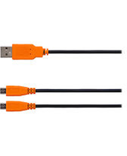 PS4- laadimiskaabel 3 m, must/ oranž