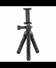 Statiiv nutitelefonidele ja GoPro-kaameratele Hama Flex Mini,...