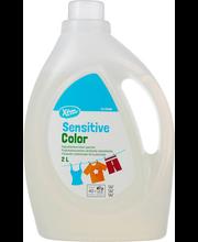 X-tra Sensitive Color pesugeel 2 l, täitepakk