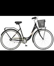 """Jalgratas Jupiter Vienna 28"""", 3 käiku, must"""