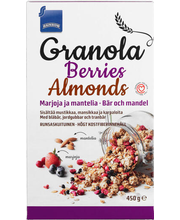 Rainbow Granola Berries Almonds röstitud müsli,450g