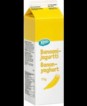 Banaanijogurt, 1 kg