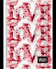 Vihik Vallila Love A5/80