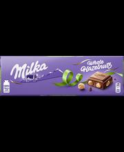 Milka piimašokolaad tervete pähklitega 250g