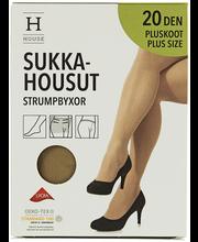 Naiste sukkpüksid Plus size Xceptionelle 20 den natural 52-56