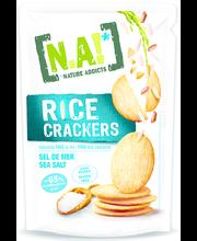 Rice Crackers riisisnäkid meresoolaga 70 g, gluteenivaba