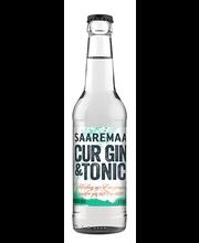 Saaremaa CUR G&T kokteilijook 4,5% 275ml
