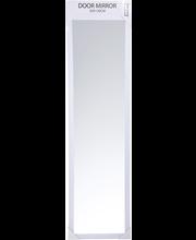 Peegel uksele 30x120 cm, valge MDF