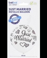 Hiigelõhupall Just Married, 60 cm